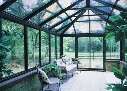 Остекление бассейнов и зимних садов стеклокомпозитными окнами