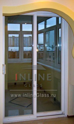 Остекление балконов и лоджий в городских квартирах. Стеклокомпозит.